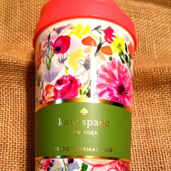 Kate Spade thermal 16oz. mug, New